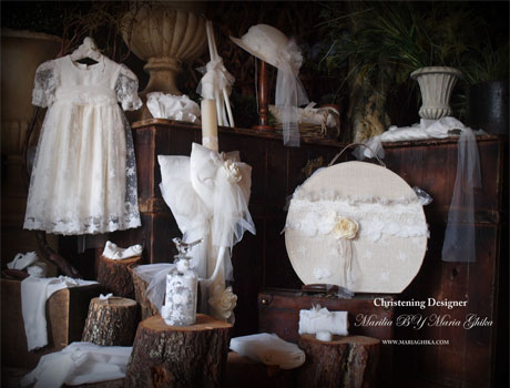 Lovely Lace Christening Gowns