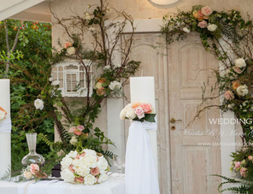 ~A Romantic Blush Garden Wedding~