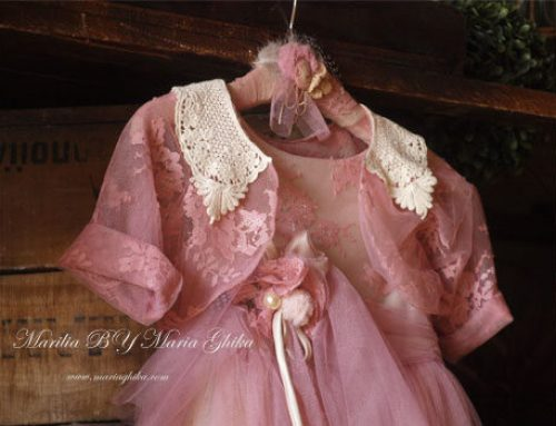 ~«VINTAGE ROMANTIC CHRISTENING CLOTHES»~